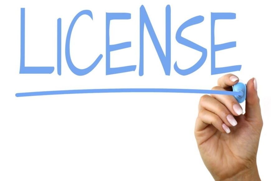License - bild ok