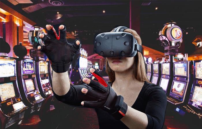 Casino-and-Woman-Virtual-Reality-Gambling