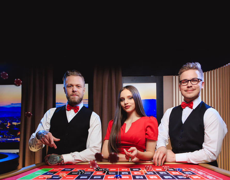 Ruby Fortune live casino dealer NZ