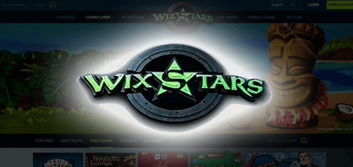 Wix Stars Live Casino NZ