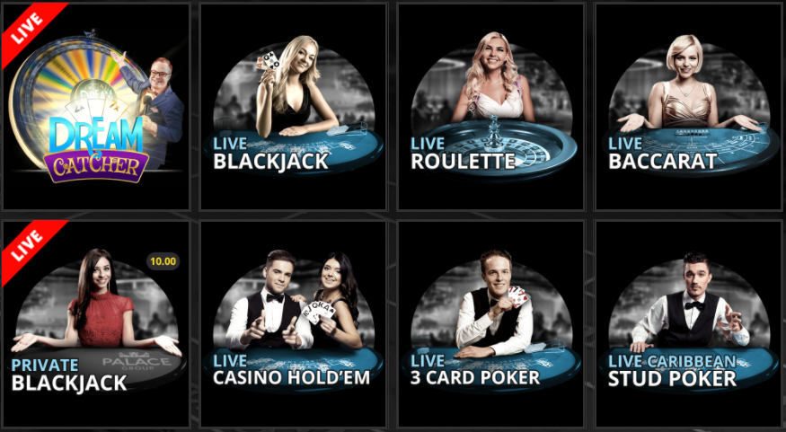 Lucky Nugget Live Casino