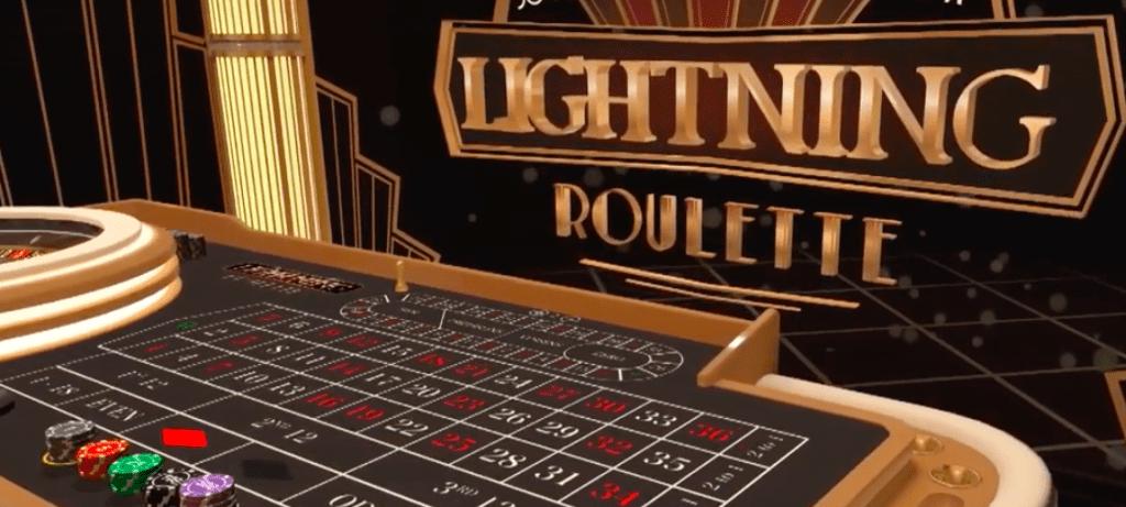 Lightning Roulette 1st person - Evolution Gaming