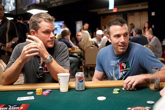 Ben Affleck poker with friend