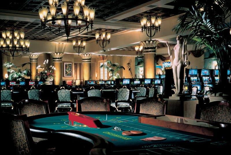 luxurious casino room
