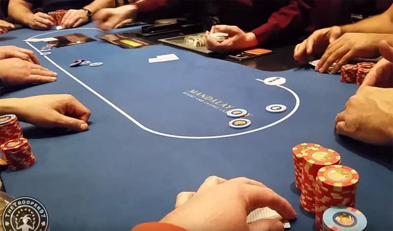 a poker tournament